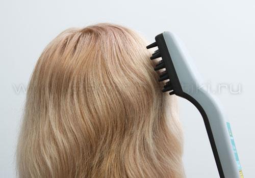 Лечение волос лазером